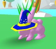 Wizard Hat Bunny Skate