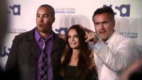 USA Upfronts Red Carpet Video