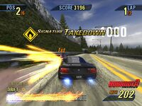 A Signature Takedown in Burnout 3: Takedown