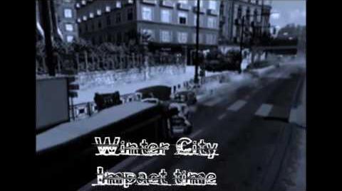 Winter City, crash 2 (Impact time) - Burnout 3- takedown