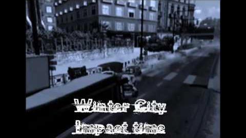 Winter City, crash 1 (Impact time) - Burnout 3- takedown