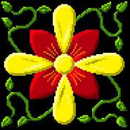 Flower groß