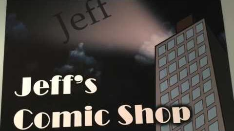 Jeff's Comic Shop The Remake!