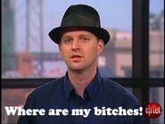 Tom in a pimp hat