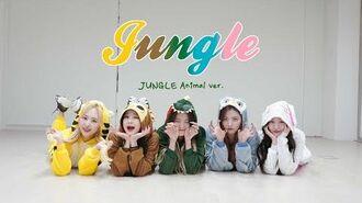 "BVNDIT(밴디트) - ""JUNGLE"" Dance Practice (JUNGLE Animal Ver"