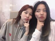 ೃ Yiyeon & Songhee ; BVNDIT