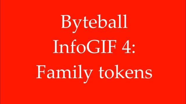 Byteball InfoGIF 4 Family tokens