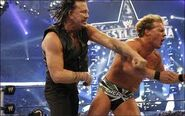 Mickey Rourke punches out Chris Jericho