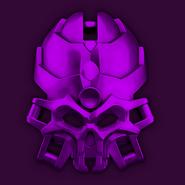 Good purple skull spider medium