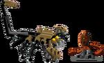 Scorpio and Po-Matoran Doseki(diminished)