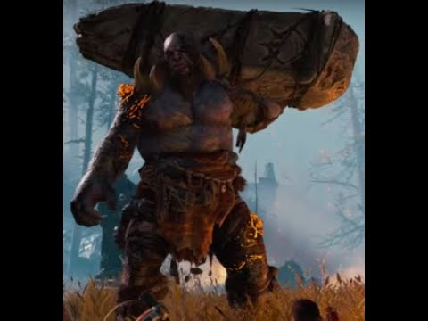 God of War - Daudi Kaupmadr Boss Battle (Dauði Kaupmaðr (Death Merchant) is a Troll the 1st boss