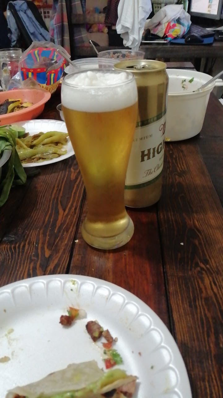 Miller Highlife! A classy beer here in Mexico