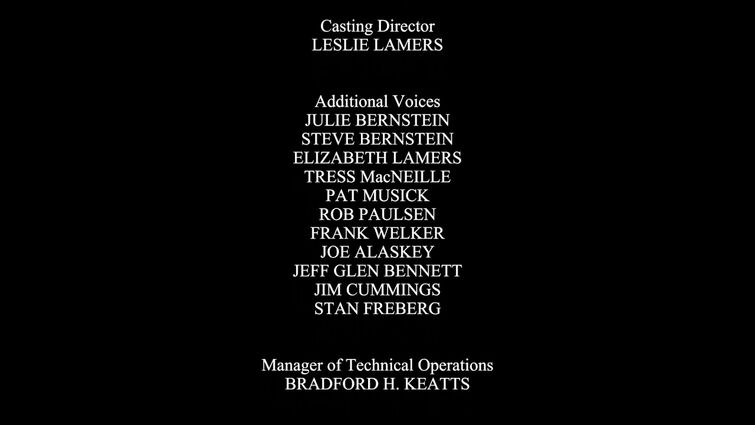 Tweety's High Flying Adventure end credits REMAKE.