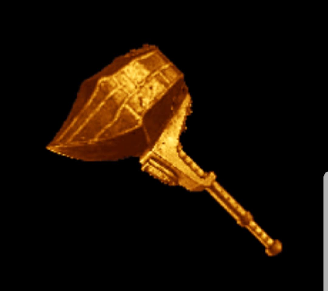 What Kulve Taroth's hammer will look like | FANDOM