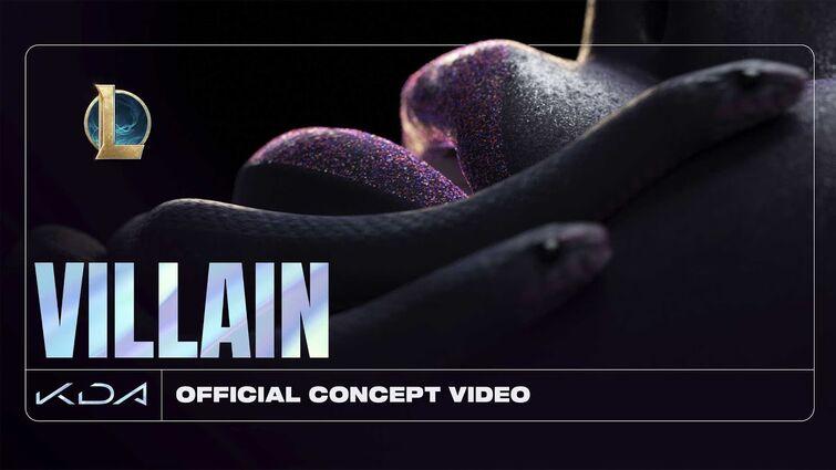 K/DA - VILLAIN ft. Madison Beer and Kim Petras (Official Concept Video - Starring Evelynn)