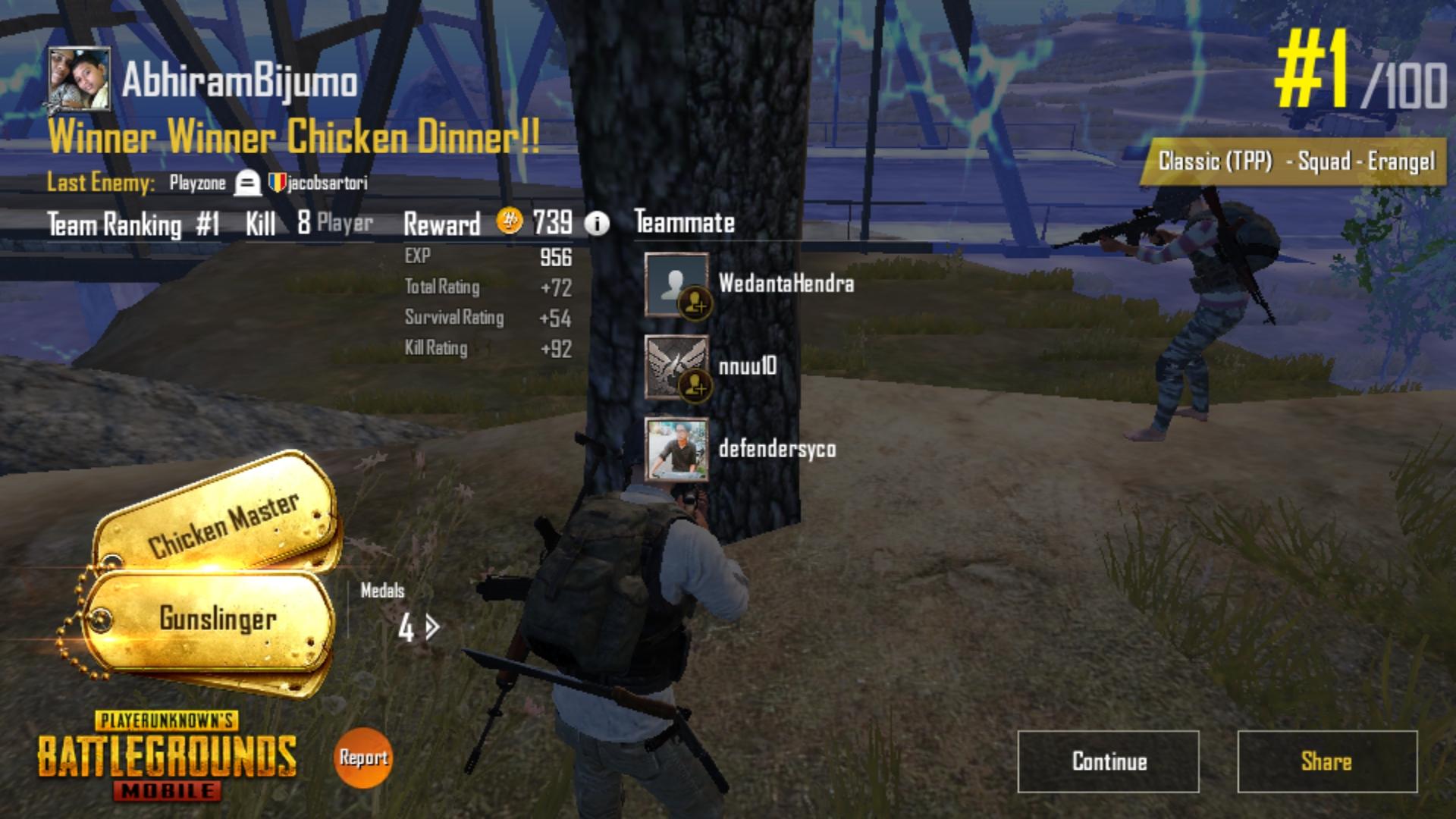 #Winner Winner Chicken dinner