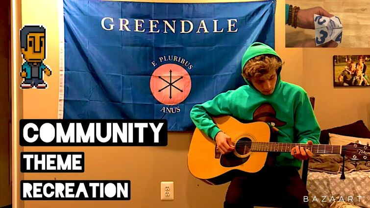 At least it Was Here - The 88 ('Community' Theme Song Guitar Cover)