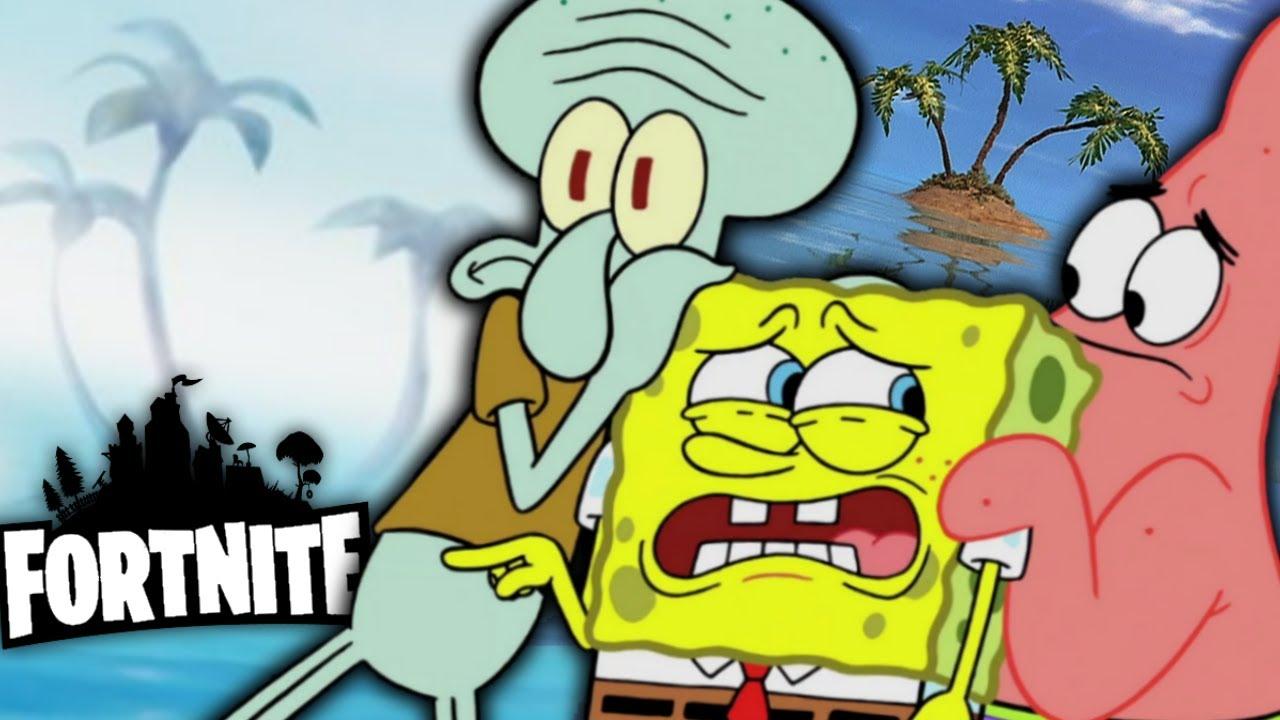 Spongebob is Coming to... Fortnite?