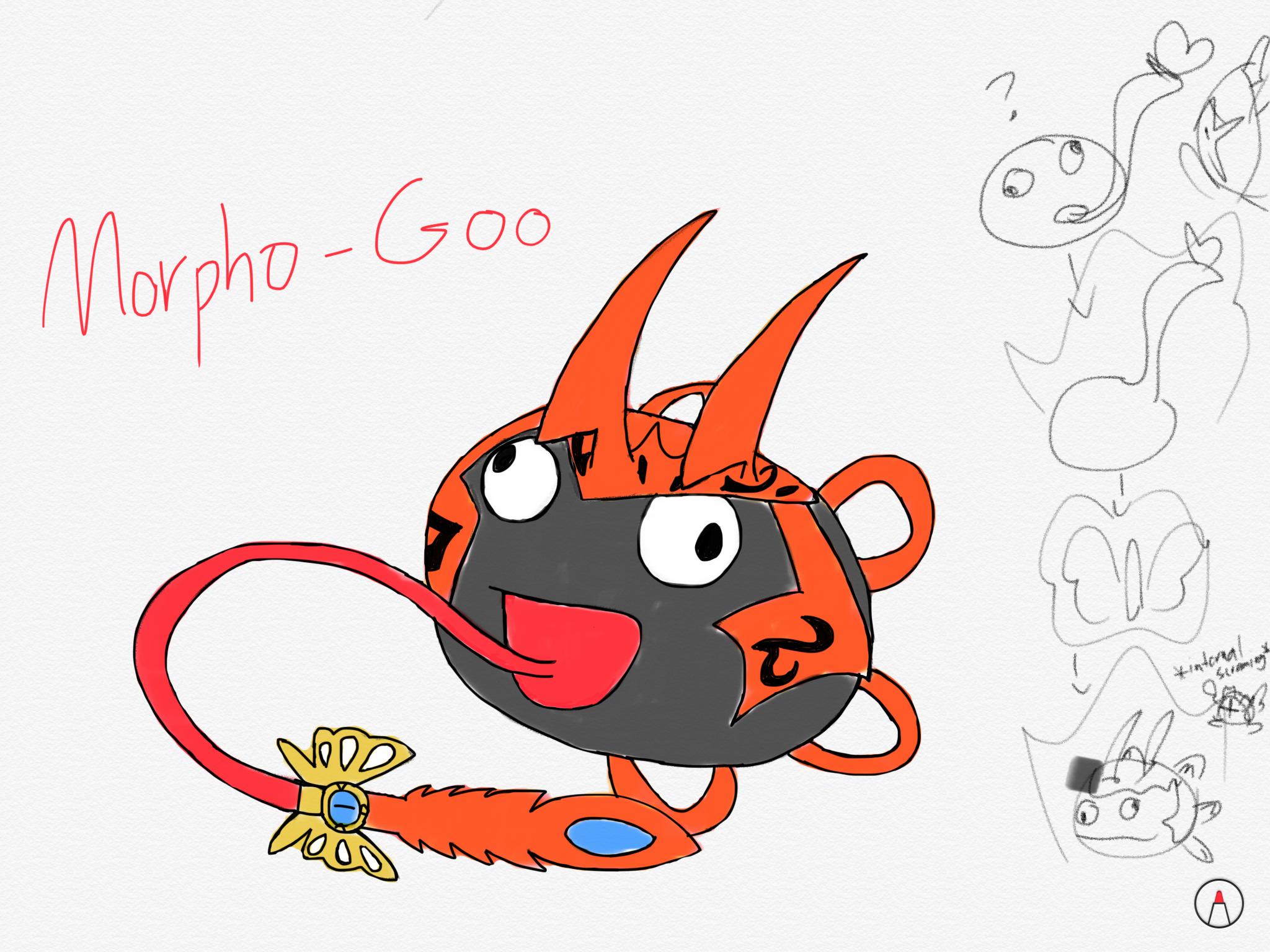 Ladies and Gentleman may I present to you... Morpho Goo.