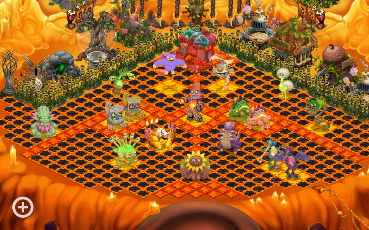 Did some redecorating on fire haven
