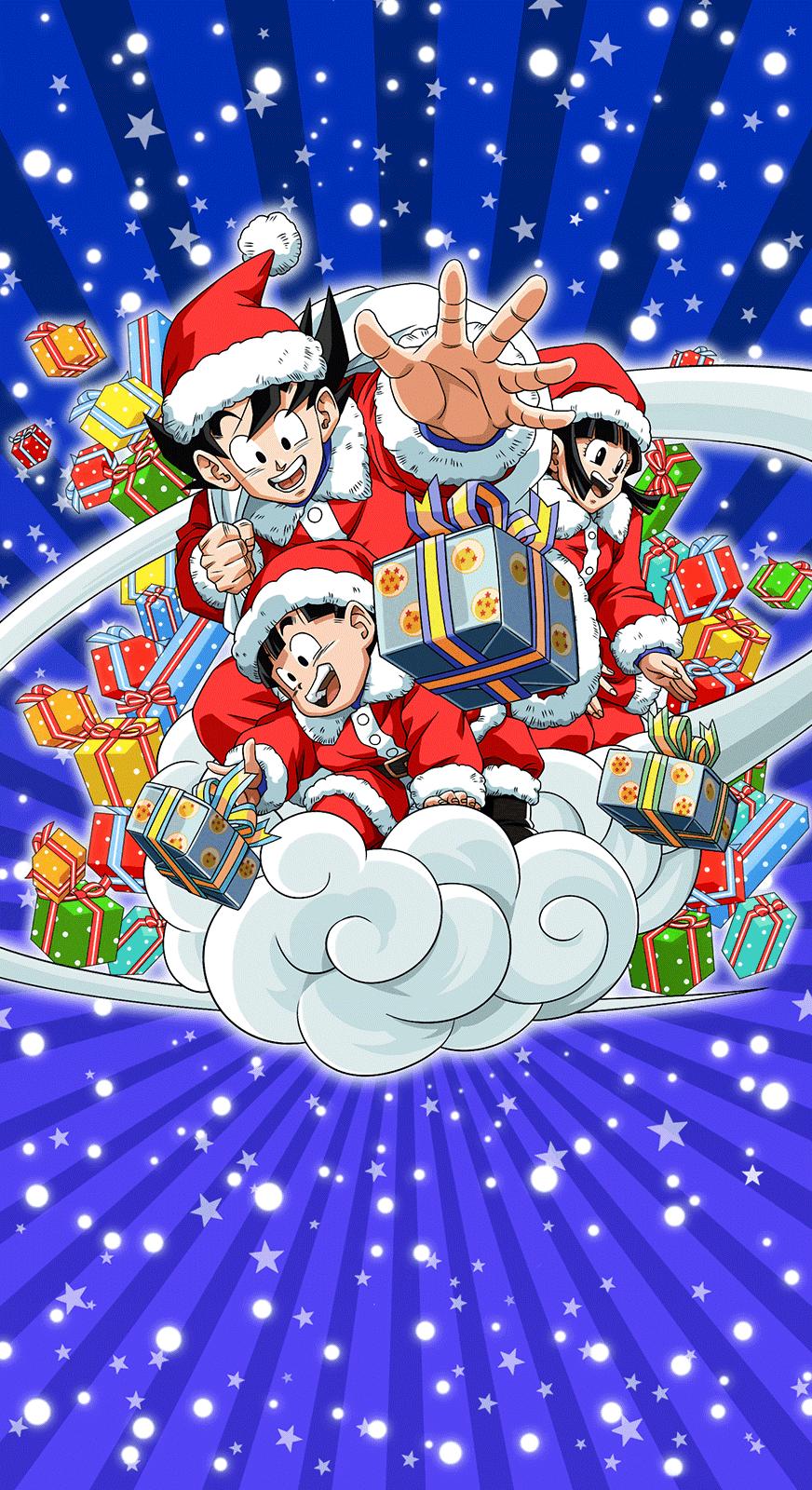 New Christmas Wallpaper For Dokkan Home Screen Fandom