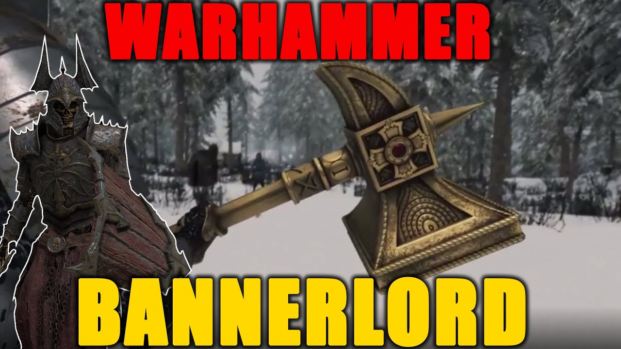 THIS GAME CHANGING WARHAMMER MOD Mount and Blade 2 Bannerlord The Old World