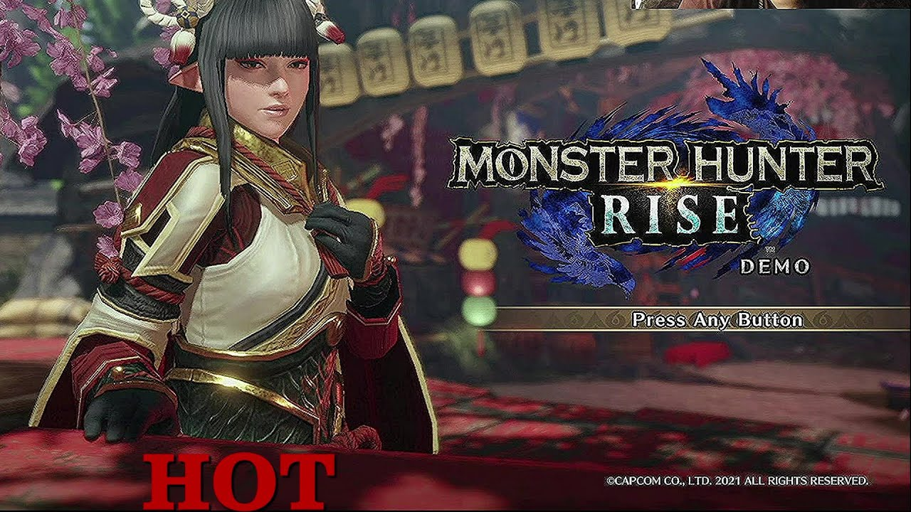 Playing the NEW MONSTER HUNTER RISE [DEMO]