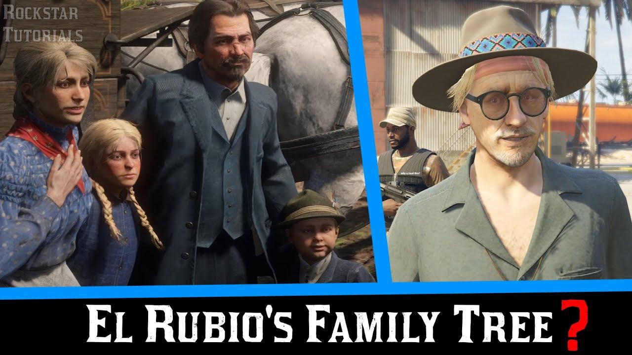 GTA Online: El Rubio's Family Tree Explained [The Cayo Perico Heist]