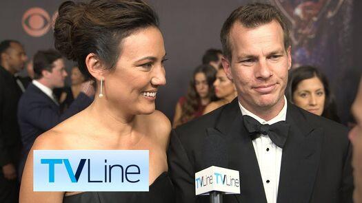 "Jonathan Nolan and Lisa Joy ""Westworld"" Interview at Emmys 2017 | TVLine"