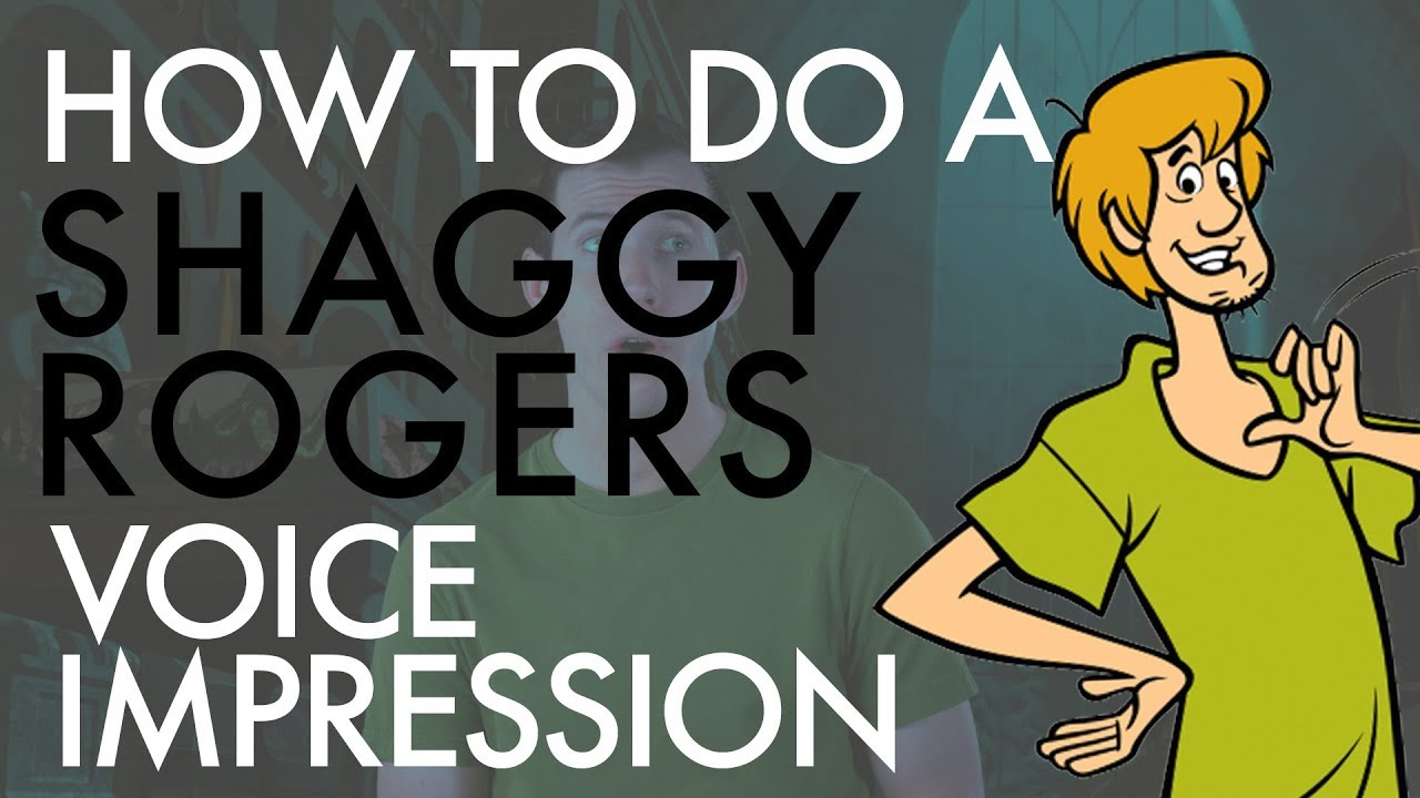 """""""How To Do A Shaggy Rogers Voice Impression"""" - Voice Breakdown Ep. 20"""