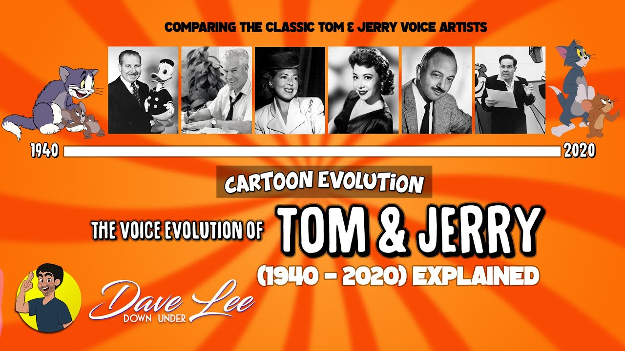 Voice Evolution of TOM AND JERRY (All Times They Speak) Compared & Explained | CARTOON EVOLUTION