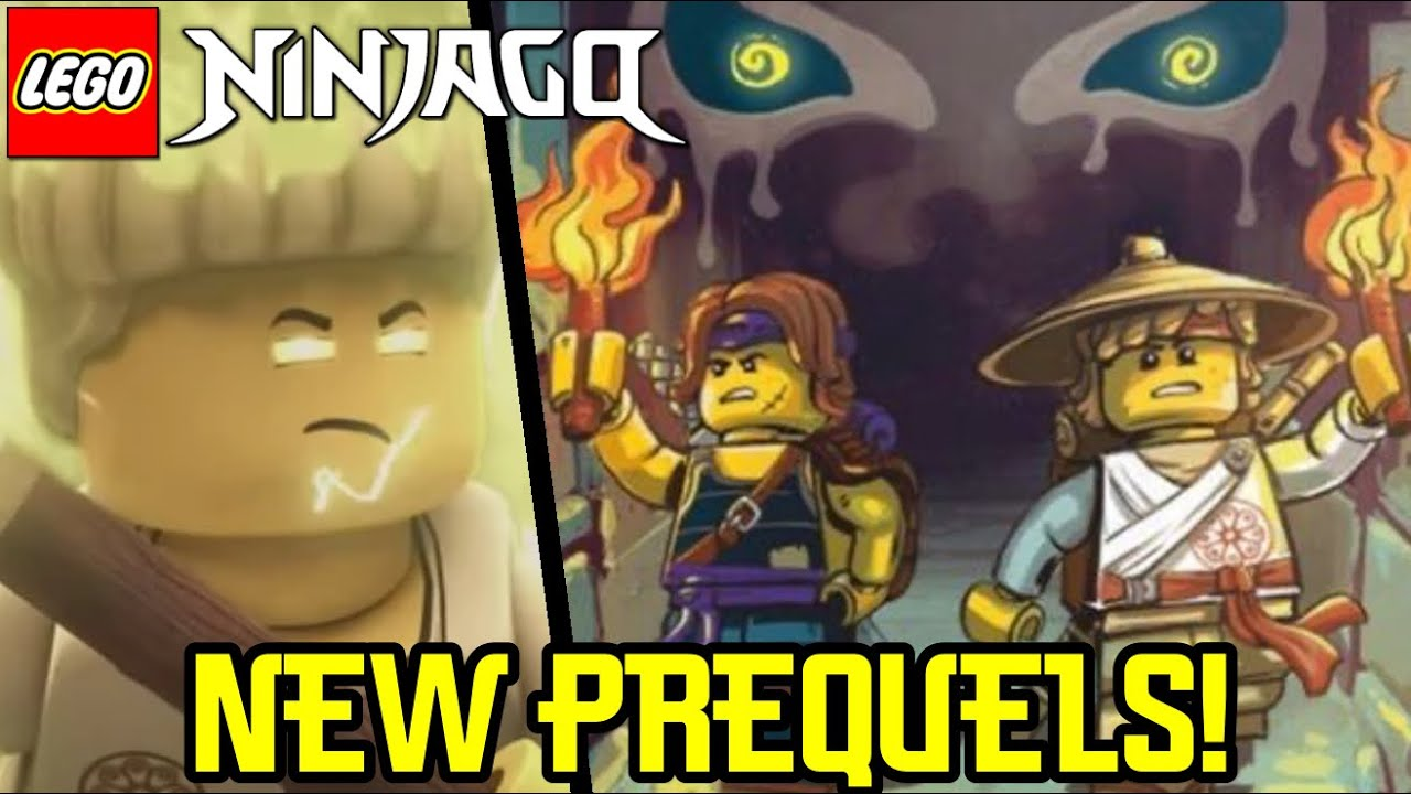 Ninjago: New Prequel Novels Coming in 2021! (Spinjitzu Brothers)