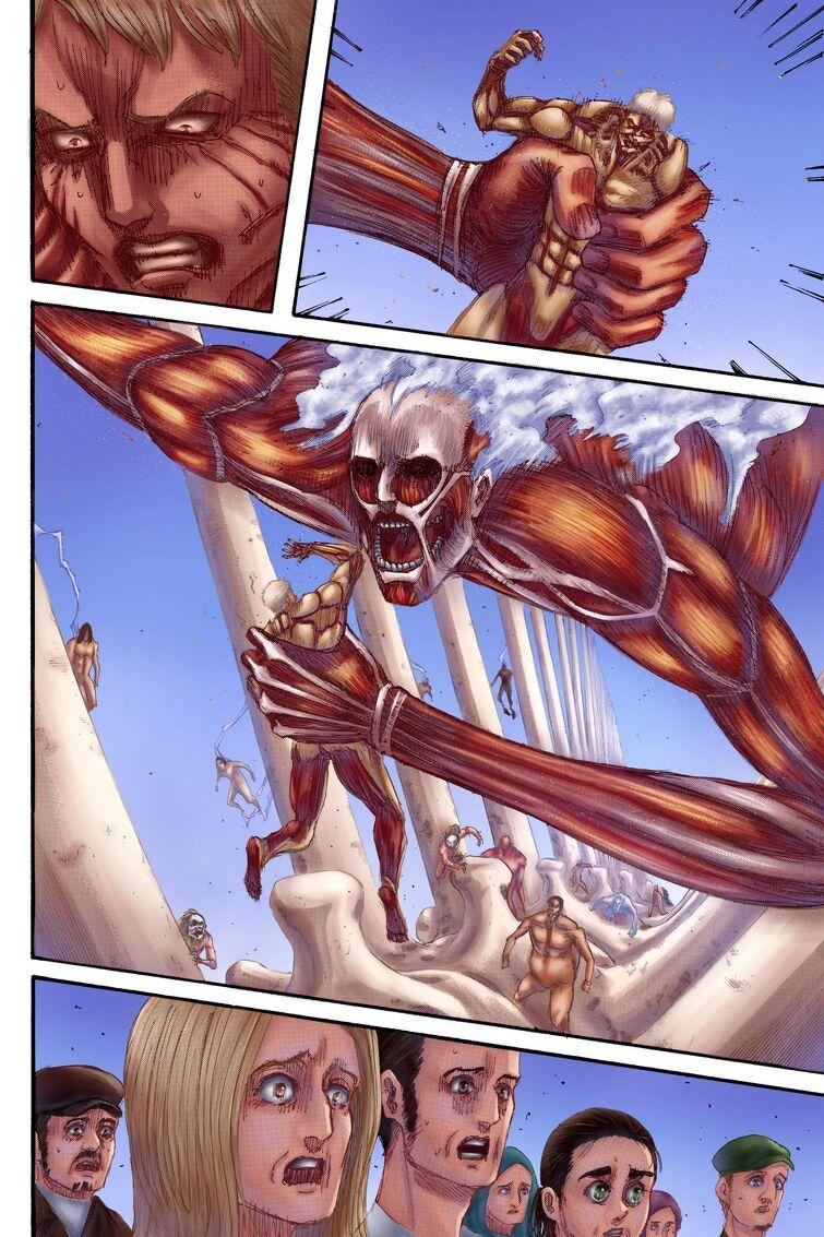eren titan vs armin titan Eren vs Armin titan wise who win?  Fandom