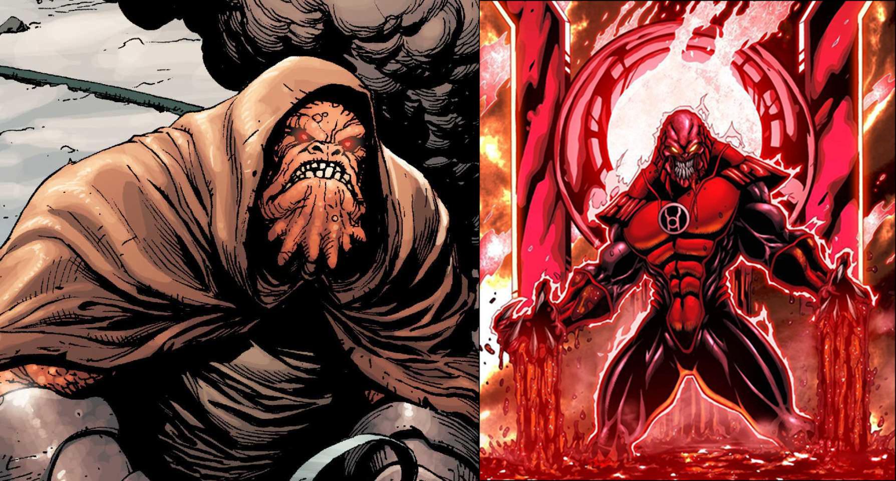 Atrocitus VS Wrath(Seven Deadly Enemies of Men)
