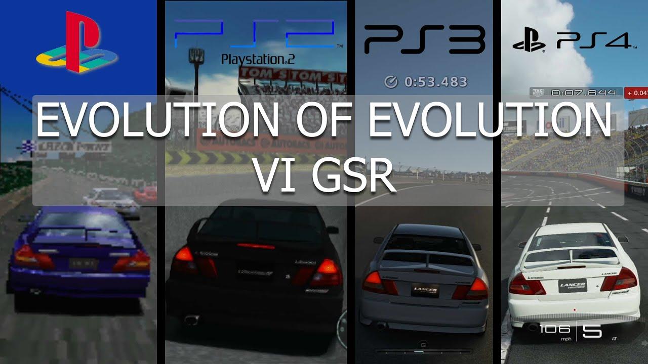 Gran Turismo Evolution Mitsubishi Lancer Evolution IV GSR