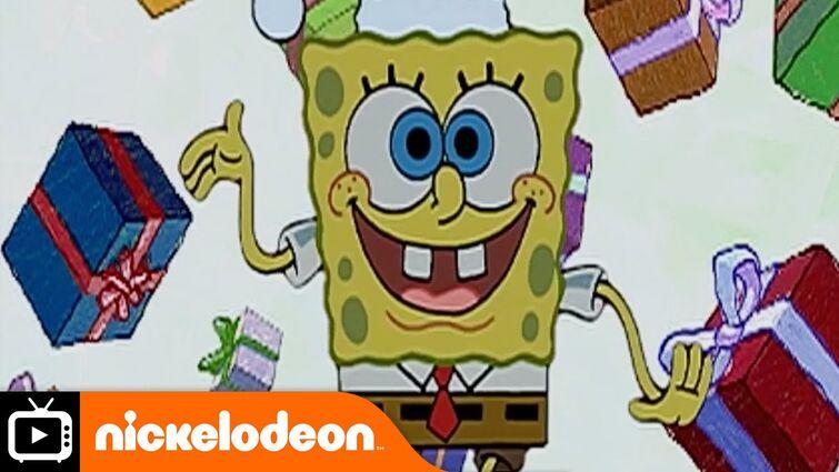 SpongeBob SquarePants | Very First Christmas | Nickelodeon UK