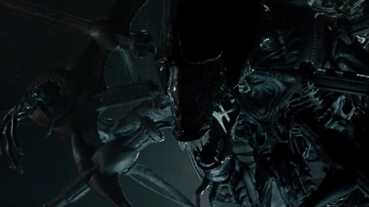 Alien vs. Predator Blu Ray Menu