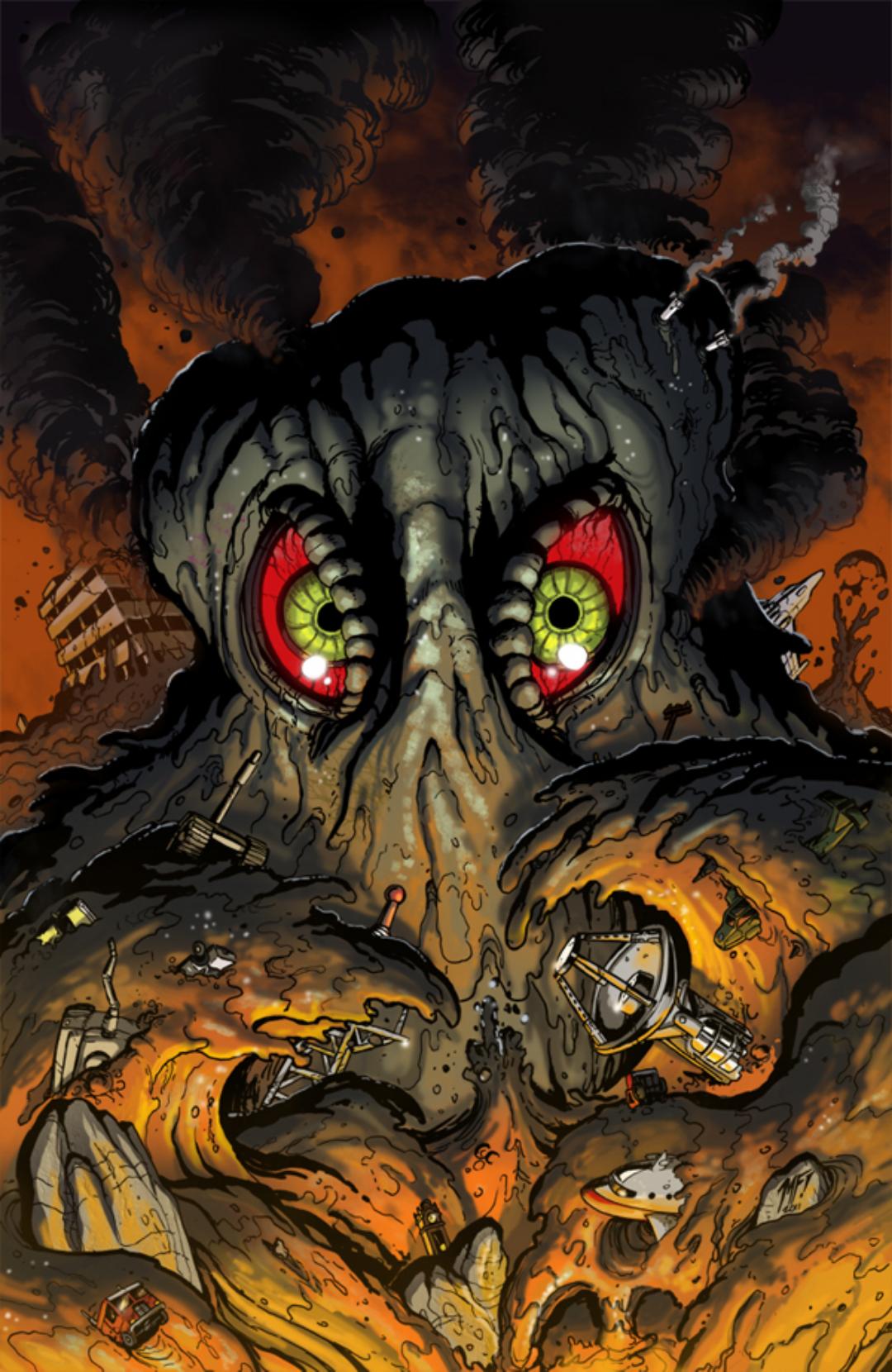 Der Kaiju der Woche ist Hedorah