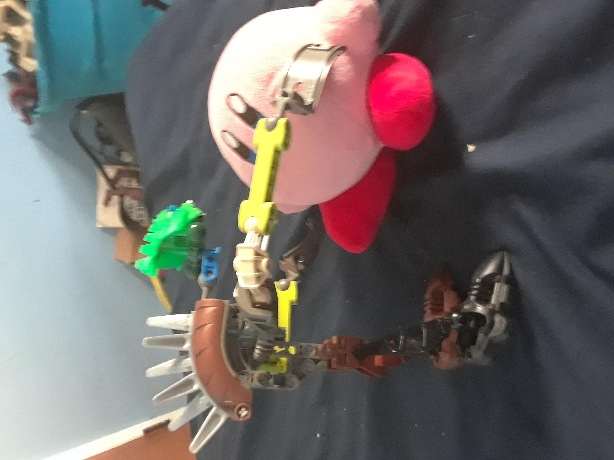 Just got a Bionicle so...