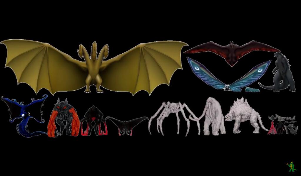 El tamaño que tenemos nosotros en el MonsterVerse