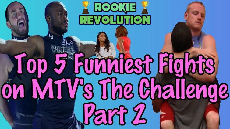 Top 5 Funniest Fights on MTV's The Challenge Part 2!