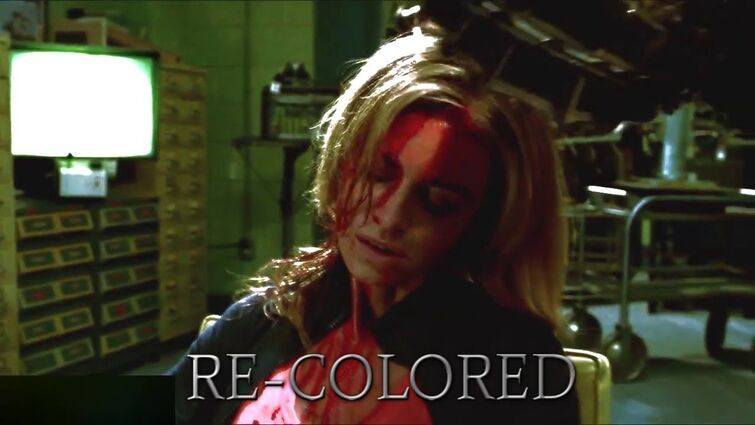Saw 3D - Jill's Death (Re-colored with red blood)