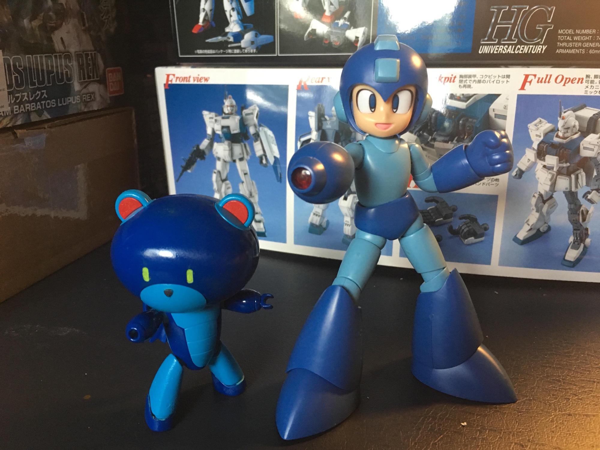 Mega Man Custom Painted PetítGuy