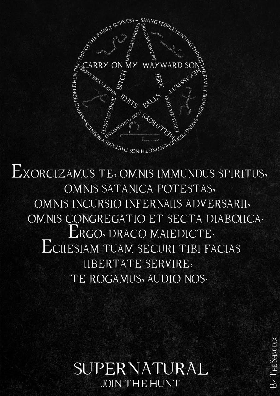 Exorcismo em latim