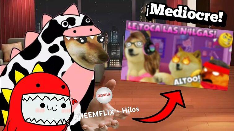 El cheemstuber pervertido que hace videos morbosos para ganar suscriptores Ft. @eldinosaurio11