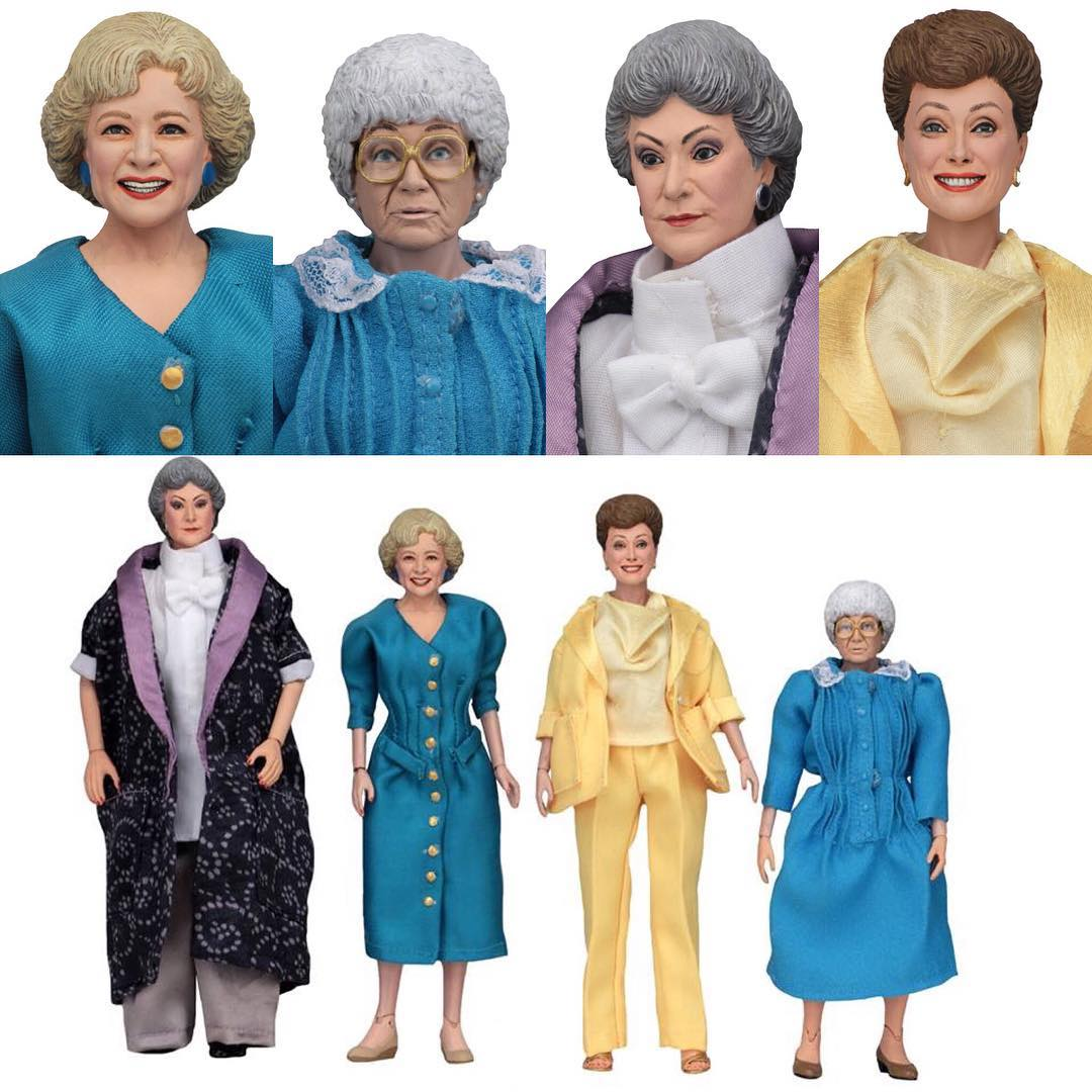 "Sean Lauzon on Instagram: ""Official #goldengirls pics from the new #neca 8 inch action figure line. #sdcc"""