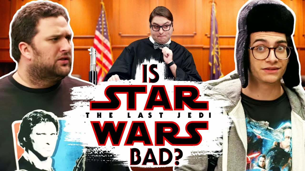 """Is """"The Last Jedi"""" Bad? (Fanboy Court)"""