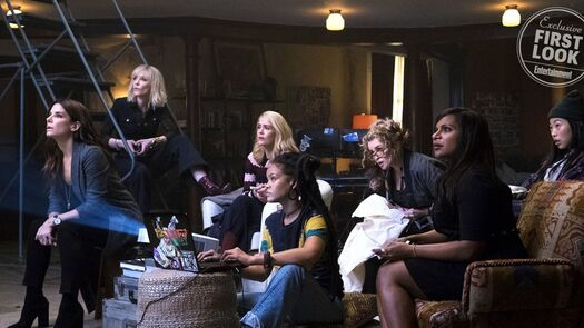 See a first look at the all-female cast of 'Ocean's 8'