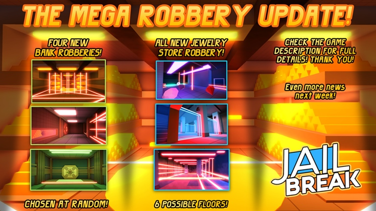 Bank Robbery Roblox Jailbreak Robbery Update Discussion Fandom