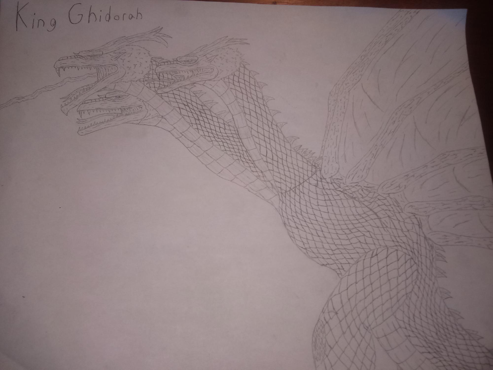 Fan Made Ghidorah